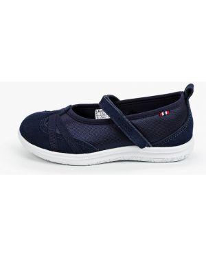 Туфли синие из искусственной кожи Viking