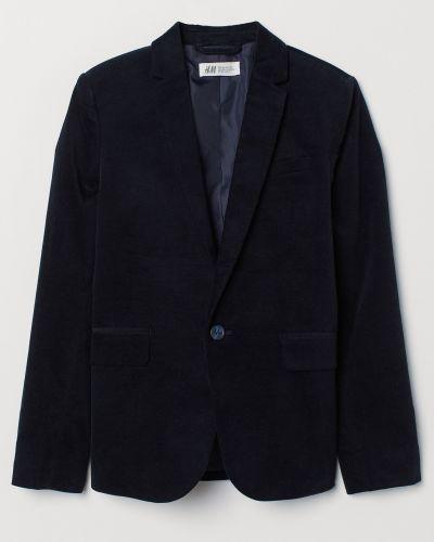 Синий пиджак H&m