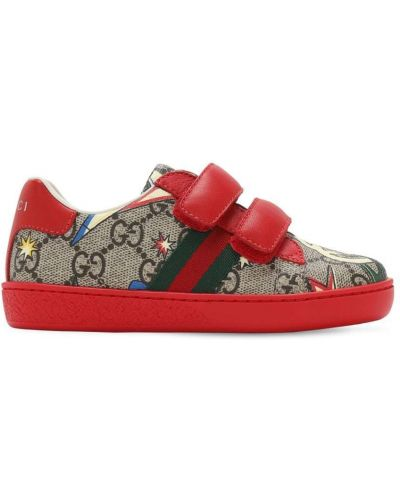 Beżowy sneakersy Gucci