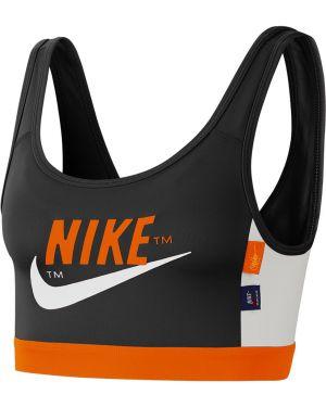 Czarny biustonosz sportowy Nike