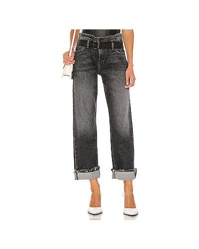 Прямые джинсы на пуговицах Rta