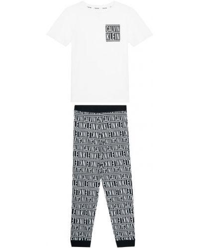Piżama - biała Calvin Klein Underwear