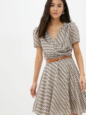 Платье с запахом Rinascimento