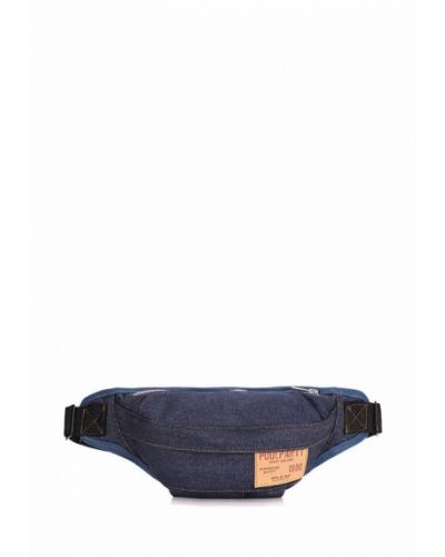 Синяя поясная сумка Poolparty