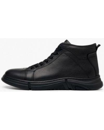 Черные резиновые ботинки Pierre Cardin