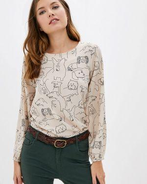 Блузка с длинным рукавом бежевый Compania Fantastica