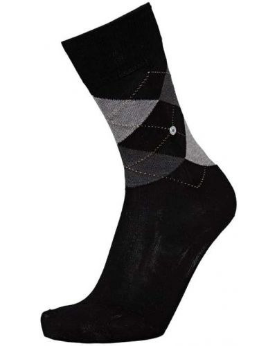 Czarne skarpety bawełniane Burlington
