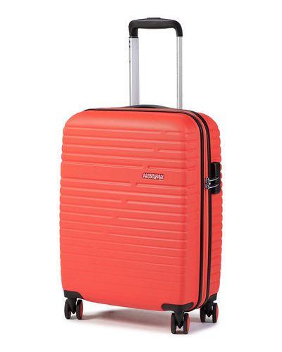 Czerwona walizka American Tourister