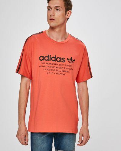 Красная футболка Adidas Originals