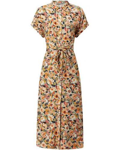 Sukienka koszulowa rozkloszowana z wiskozy Jake*s Collection