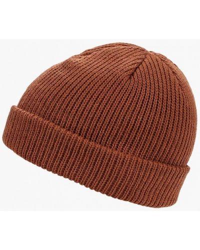 Коричневая шапка осенняя Vans