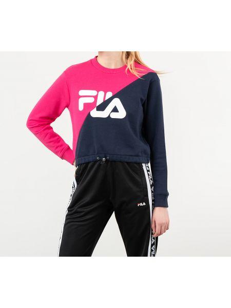Розовый свитшот Fila
