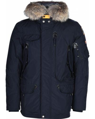 Куртка из полиуретана - синяя Parajumpers
