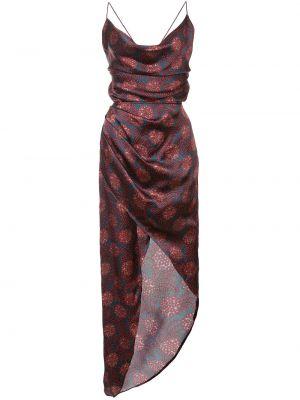 Sukienka z jedwabiu z printem Haney