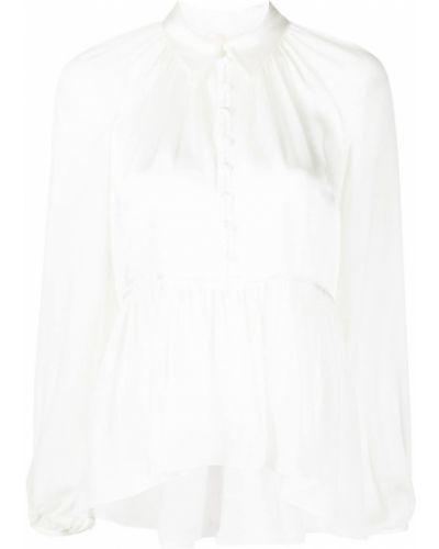 Шелковая блузка - белая Cinq À Sept
