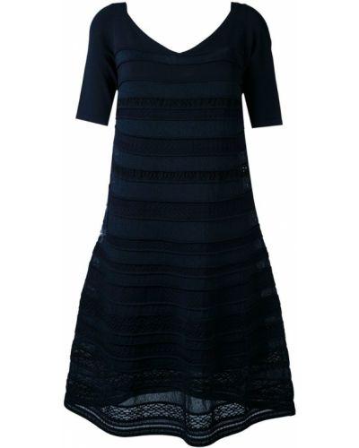 Расклешенное платье с вышивкой D.exterior