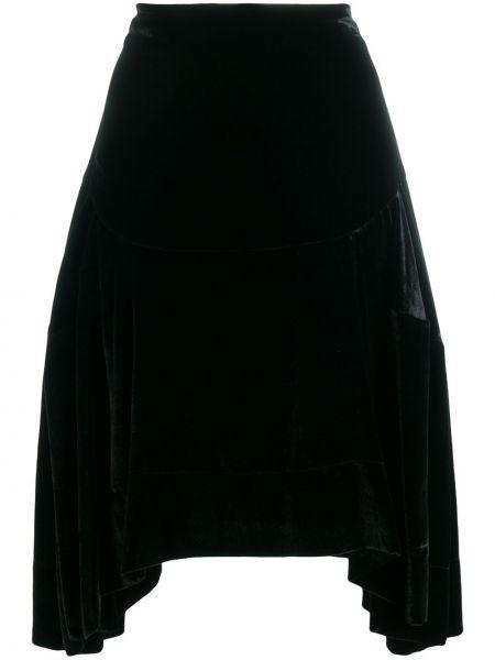 Черная асимметричная юбка Vivienne Westwood