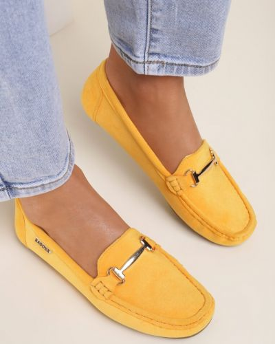 Żółte mokasyny Renee