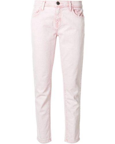 Прямые джинсы укороченные розовый Current/elliott