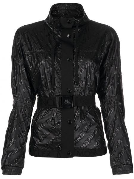 Куртка черная с карманами Moncler