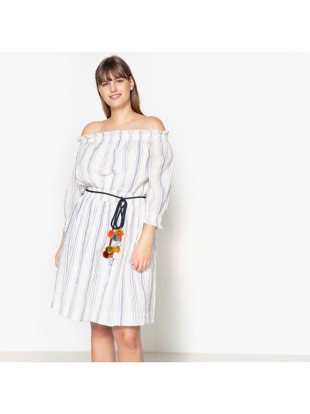 Платье миди макси в полоску Castaluna
