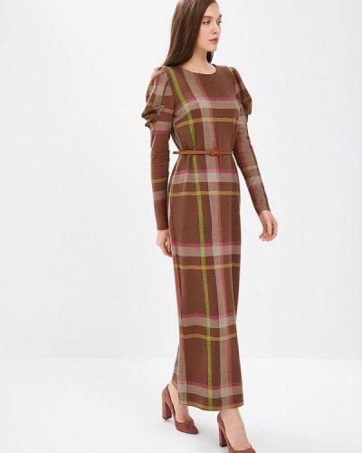 Платье - коричневое Sahera Rahmani