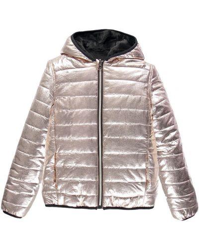 Куртка двусторонняя золотой Mek