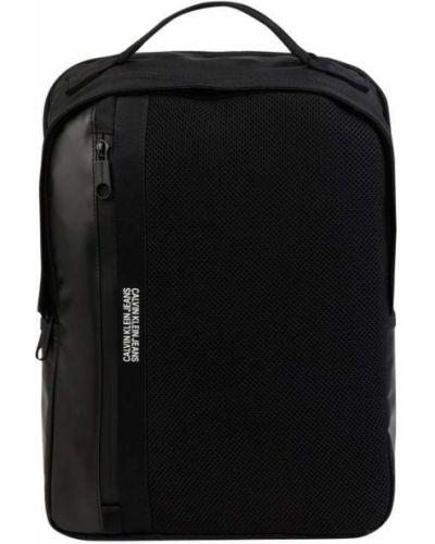 Czarny plecak na laptopa Calvin Klein Jeans