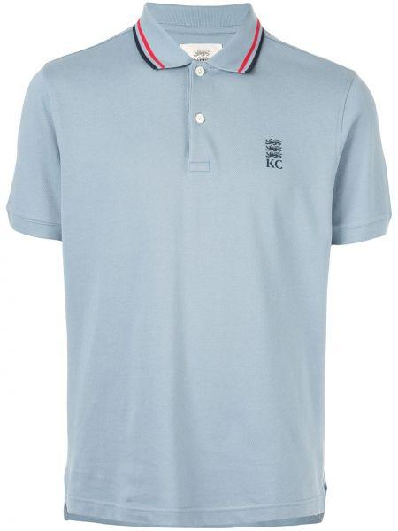 Koszula krótkie z krótkim rękawem klasyczna z paskami Kent & Curwen
