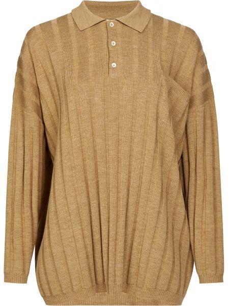Шерстяной свитер - коричневый Toteme