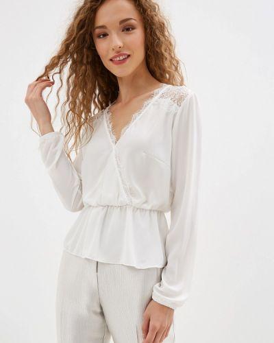 Блузка с длинным рукавом итальянский белая Rinascimento