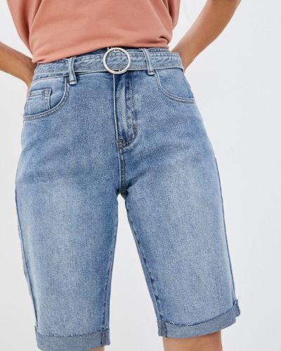 Голубые джинсовые шорты Mossmore