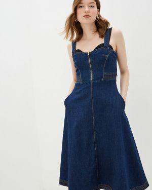 Платье платье-сарафан синее You&you