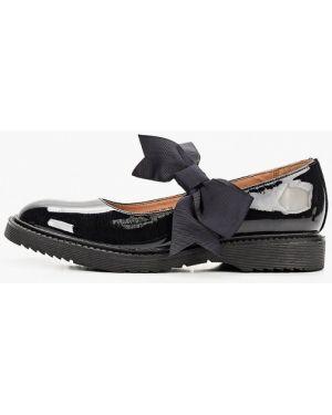 Туфли синие лаковые Betsy