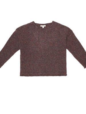 Коричневый свитер из альпаки Caramel