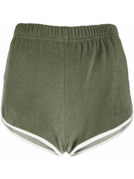 Зеленые хлопковые шорты с карманами F.r.s For Restless Sleepers