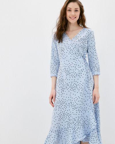 Платье - голубое Zarina