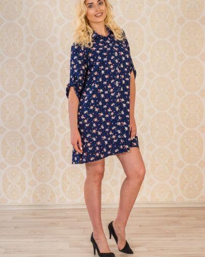Платье на пуговицах из штапеля Lena Basco