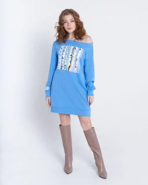 Платье мини оверсайз сетчатое Barmariska