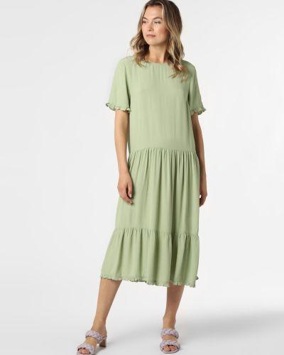 Zielona sukienka casual Moss Copenhagen