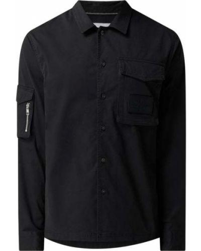 Czarna kurtka bawełniana Calvin Klein Jeans