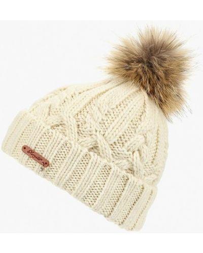 Белая шапка осенняя Noryalli