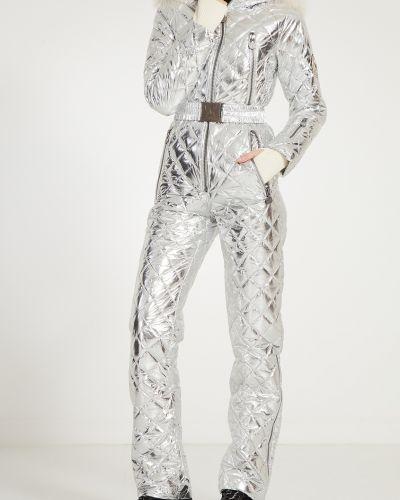 Трикотажный комбинезон с карманами с мехом Naumi