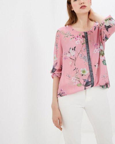 Блузка с длинным рукавом розовый 2019 Betty Barclay