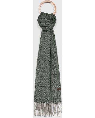 Серый шарф трикотажный Barts