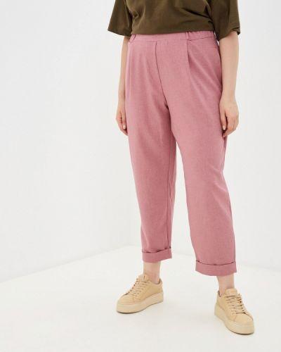 Розовые прямые брюки Prewoman