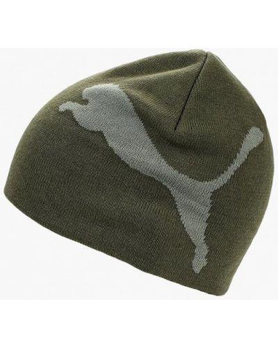 Шапка осенняя зеленый Puma