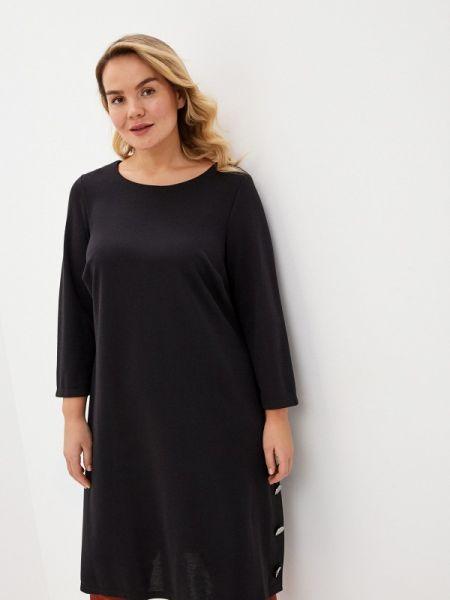 Повседневное платье черное весеннее Evans