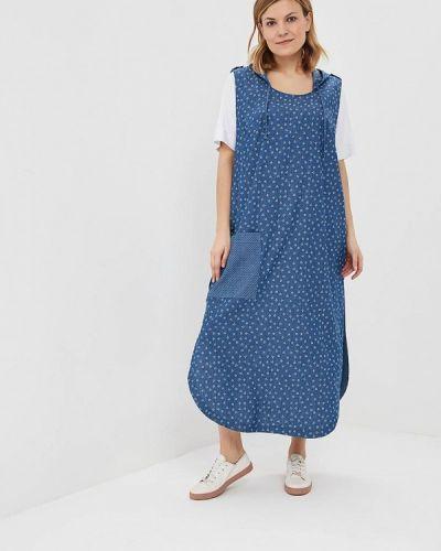Платье весеннее синее Silver String