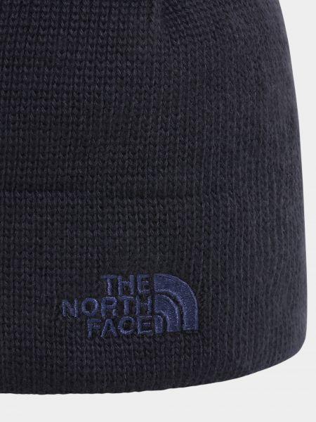 Флисовая шапка - синяя The North Face